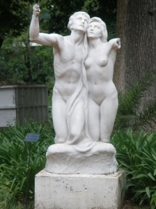 Sculpture at the Botanical Garden