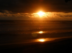 Sunset in Dominical