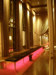 Lobby entrance.  This hotel was incredible.