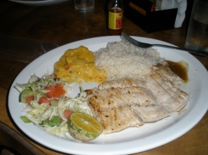 Mahi-Mahi dinner.  It rocked our world.