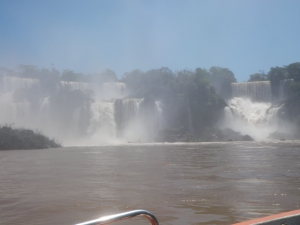 Falls from the boat